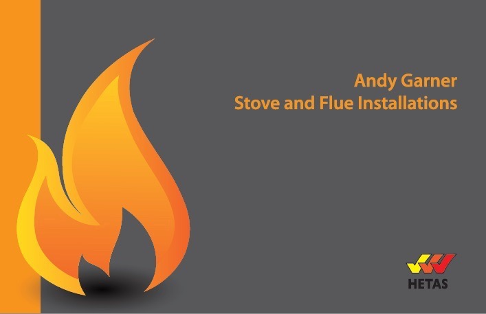 Stove and Flue printed business card Torquay Printing